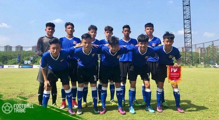 U15 PVF giành hạng 6 giải U15 ADFT
