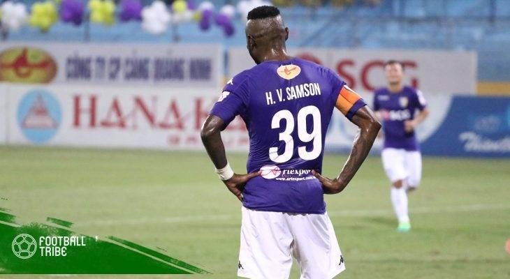 Hoàng Vũ Samson trở lại khoác áo Hà Nội FC