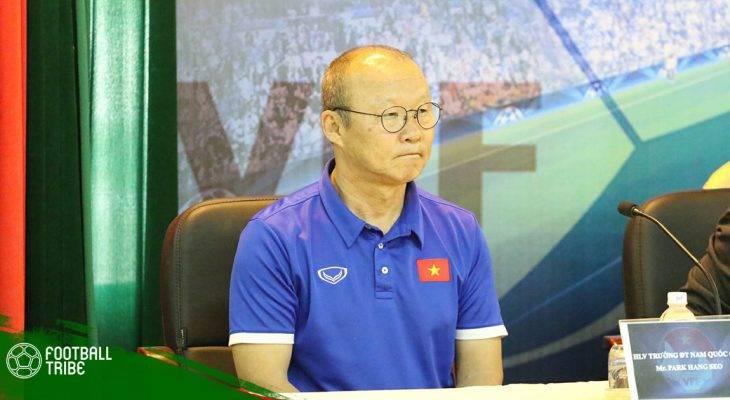 HLV Park Hang-seo không dẫn dắt U22 Việt Nam đấu Guus Hiddink