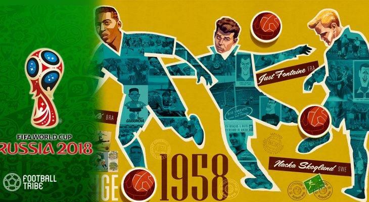 """Lịch sử World Cup 1958: """"Vua bóng đá"""" Pele ra mắt và lần đầu cho Brazil"""