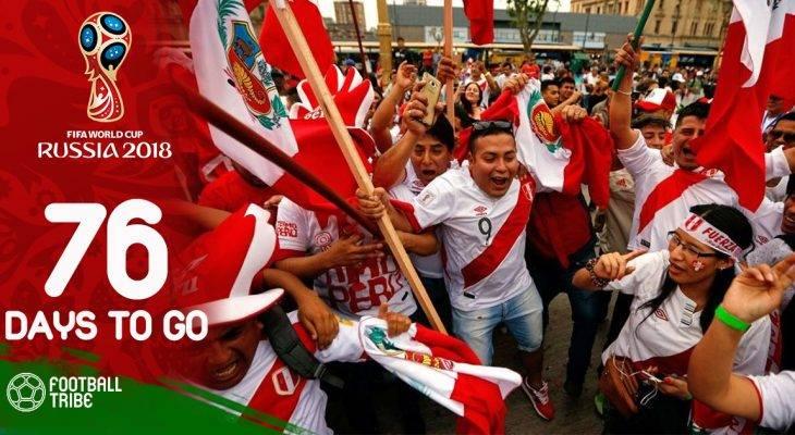 World Cup còn 76 ngày: 700 nghìn CĐV mua vé xem ĐT Peru thi đấu