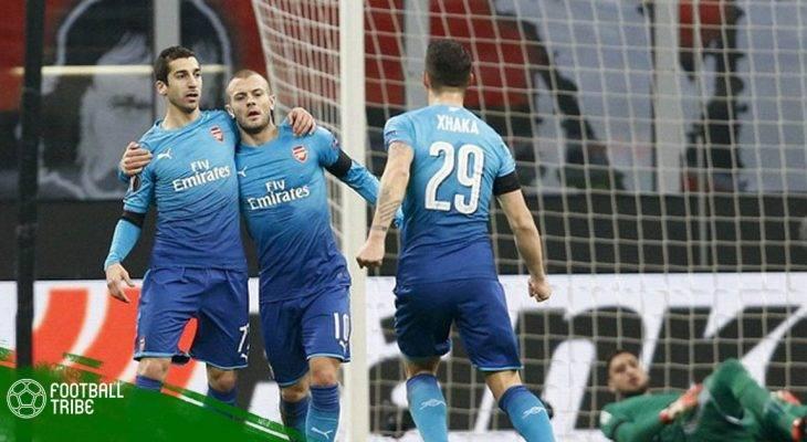 Tổng hợp kết quả loạt trận lượt đi vòng 1/8 Europa League 2017/18