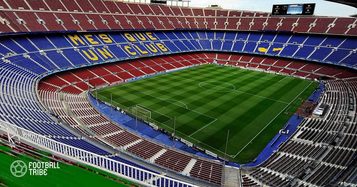 Barcelona lên kế hoạch bán tên sân Camp Nou