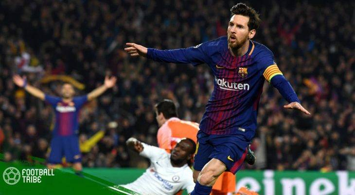 Đội hình tiêu biểu lượt về vòng 1/8 Champions League: Vinh danh Messi