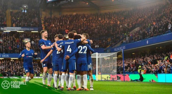 Premier League 2017/18: Đánh bại Crystal Palace, Chelsea áp sát top 4