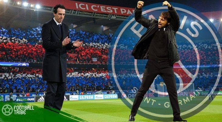 Ghế nóng tại PSG: Emery đi, Conte đến?