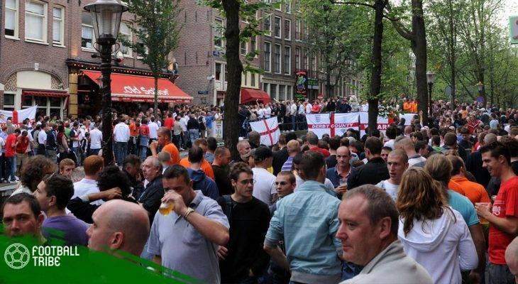 Nhiều Hooligan Anh bị bắt trước trận giao hữu Hà Lan – Anh