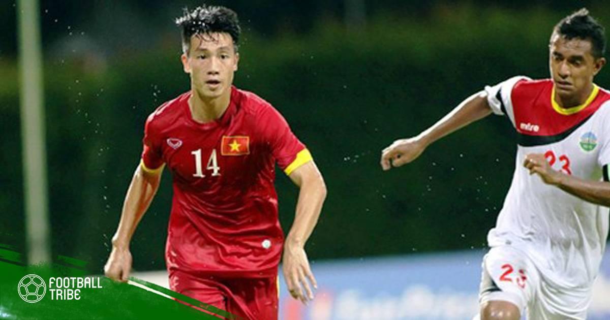 Huy Hùng sắp trở lại tập luyện cùng Quảng Nam