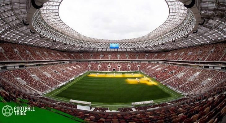 Các sân vận động đăng cai VCK World Cup 2018