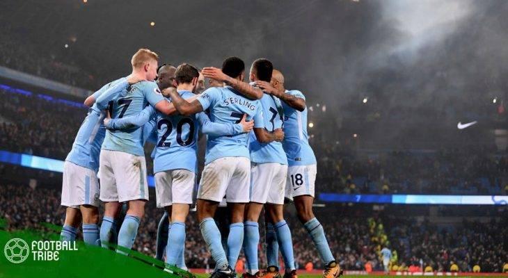 Manchester City nhuộm xanh Premier League
