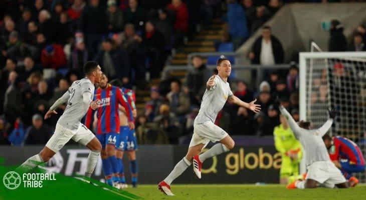 Dư âm Palace 2-3 Man United: Những thống kê đáng chú ý