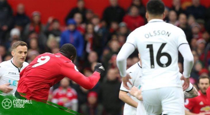 Manchester United 2-0 Swansea : Lukaku và bàn thắng thứ 100 tại Premier League