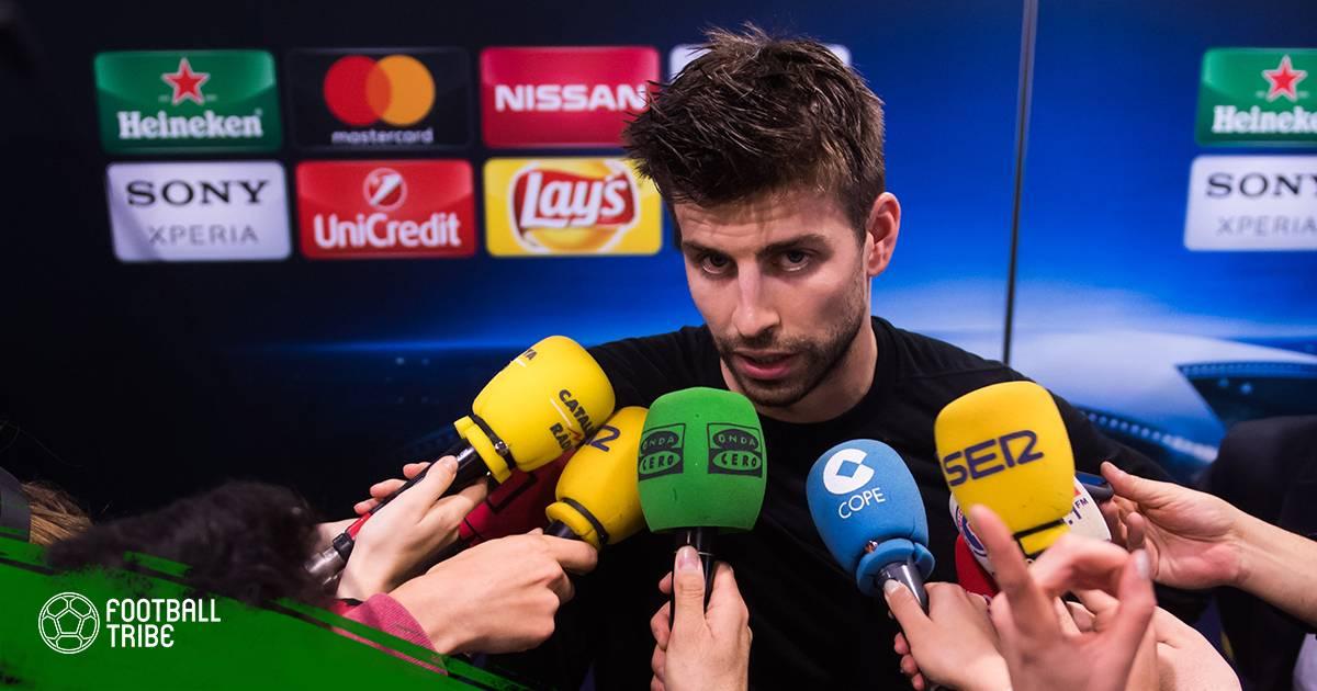 Gerard Pique tiếp tục bị cổ động viên Tây Ban Nha la ó