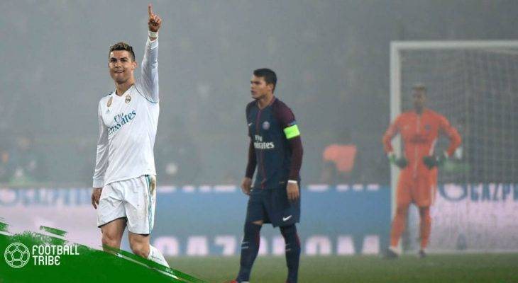Champions League 2017/18: Những thống kê sau chiến thắng của Real Madrid trước PSG