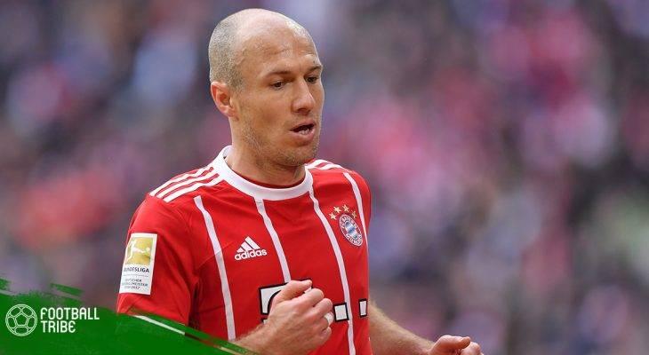 Arjen Robben úp mở khả năng giải nghệ khi kết thúc mùa giải