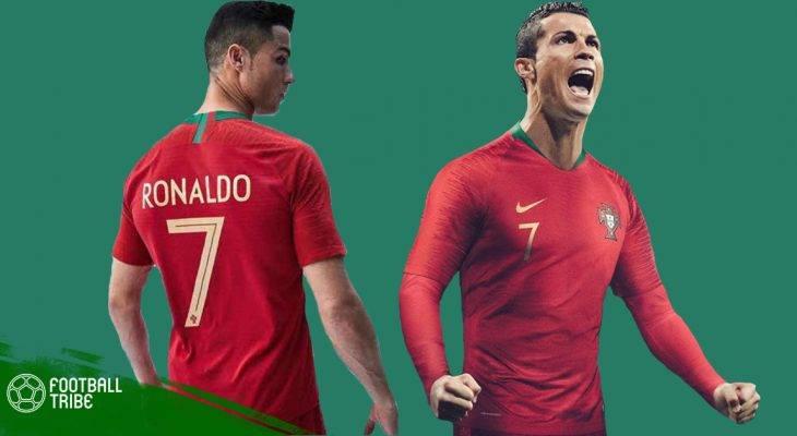 Cận cảnh bộ áo đấu mới của đội tuyển Bồ Đào Nha tại World Cup 2018