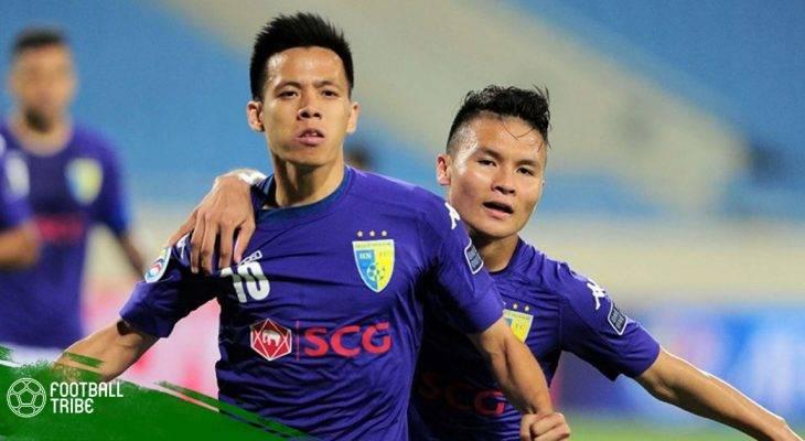V.League vòng 12: Quang Hải nối dài chuỗi chiến thắng cho Hà Nội