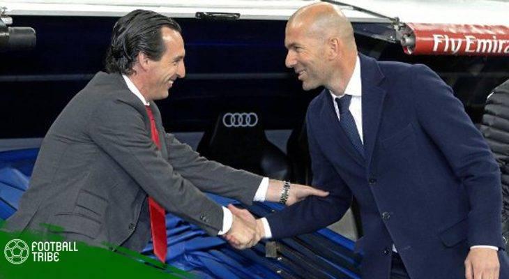 PSG muốn chính Zidane ngồi ghế nóng thay Emery