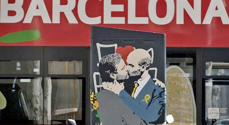 Jose Mourinho và Pep Guardiola trở thành cảm hứng nghệ thuật