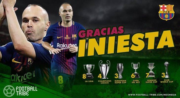 Iniesta và những khoảnh khắc đi cùng năm tháng tại Barcelona
