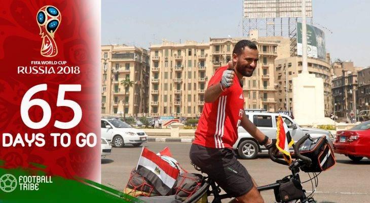 World Cup còn 65 ngày: CĐV Ai Cập đạp xe 5000km để cổ vũ ĐTQG