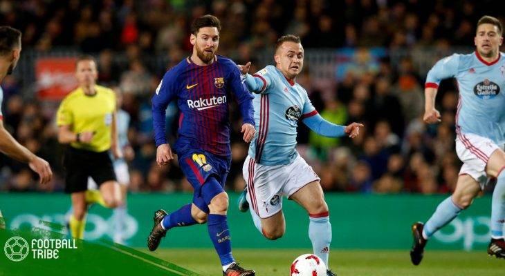 Celta Vigo 2-2 Barcelona: Hút chết tại Bailados