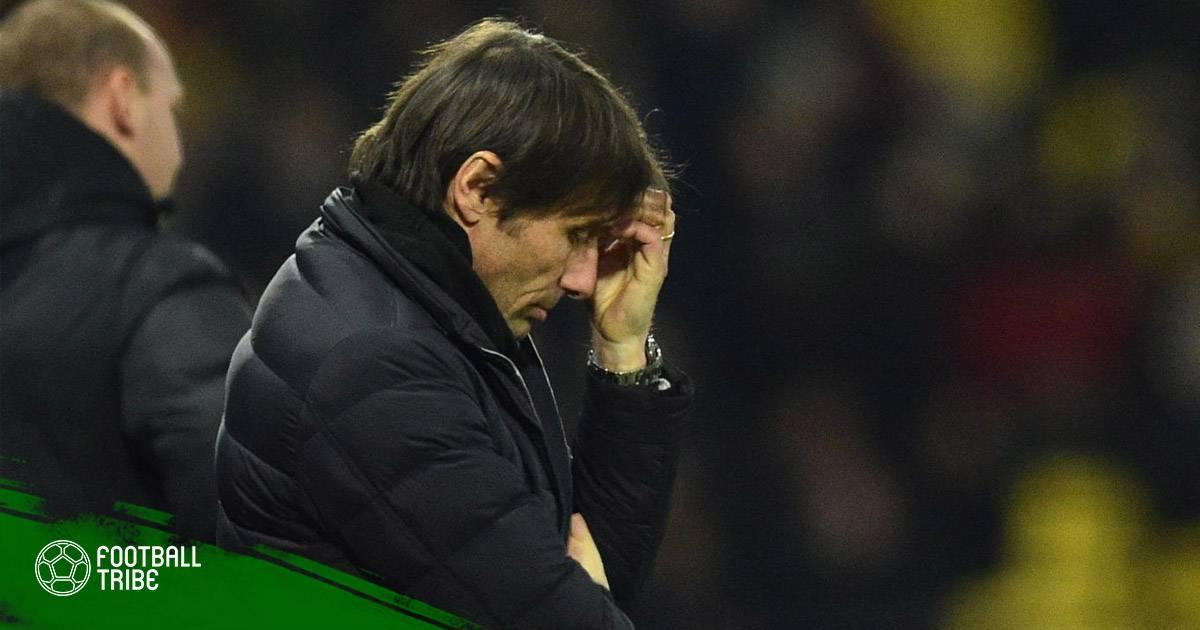 """Những nước cờ """"sai sách"""" của Antonio Conte trong mùa giải 2017/2018"""