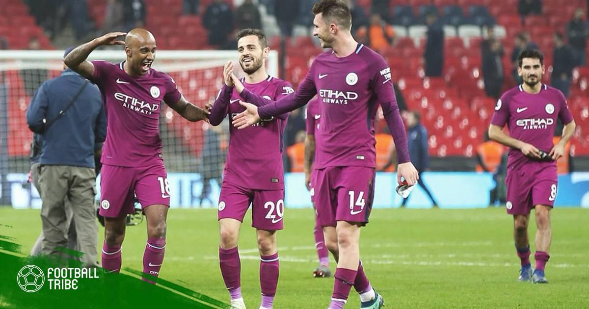 Tottenham Hotspur 1-3 Manchester City: The Citizen tiến sát ngai vàng