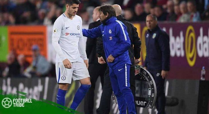 "Morata xin lỗi vì thái độ ""lồi lõm"""
