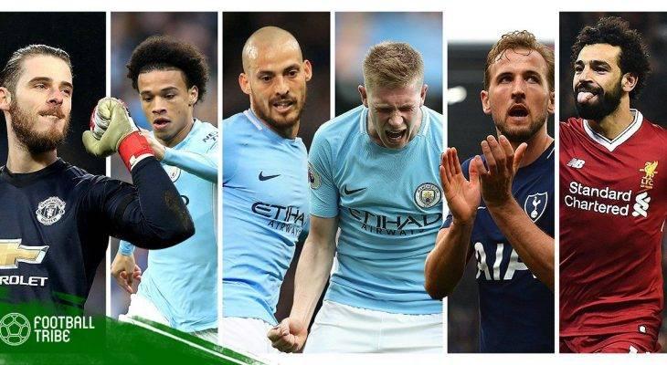 Đề cử Cầu thủ xuất sắc nhất năm của PFA: Thành Manchester thống trị