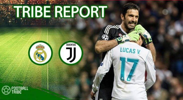 Real Madrid 1-3 Juventus: Phút bù giờ định mệnh