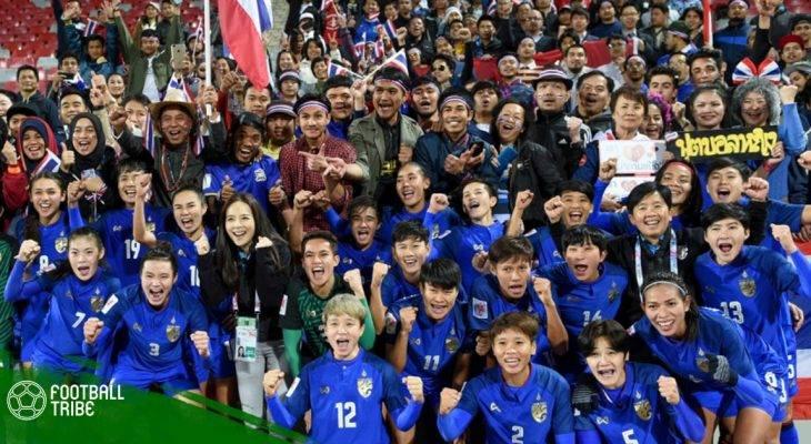 ĐT nữ Thái Lan được thưởng 25 tỷ đồng sau khi giành vé dự World Cup