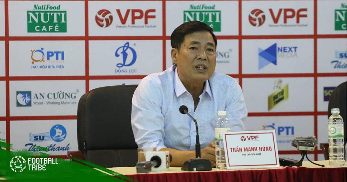Ông Trần Mạnh Hùng vẫn có thể trở thành Phó chủ tịch VFF