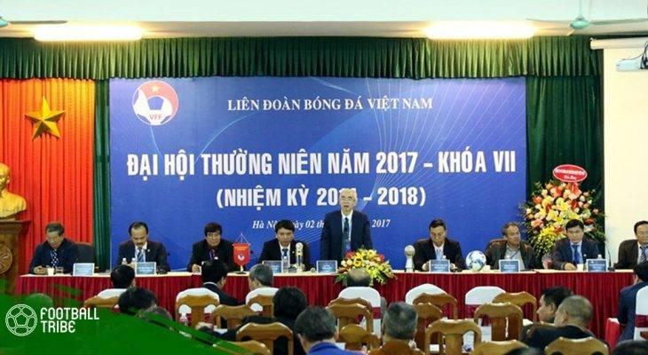 """""""Đêm hội Long Trì"""" thượng tầng bóng đá Việt"""