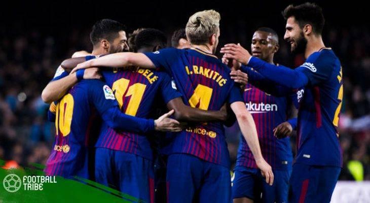 Messi tỏa sáng, Barcelona san lấp kỉ lục bất bại tại La Liga