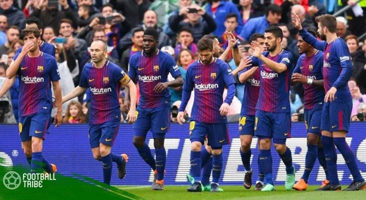 Barcelona 2-1 Valencia: Kỷ lục mới cho Gã khổng lồ xứ Catalan