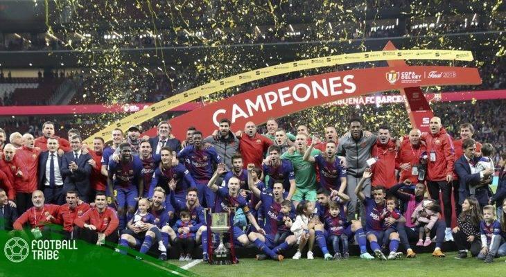 Sevilla 0-5 Barcelona: Xong Cúp Nhà Vua, chờ La Liga