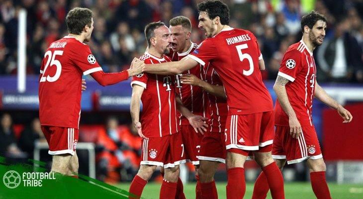 Bayern Munich chính thức vô địch Bundesliga 2017/18 sớm năm vòng đấu