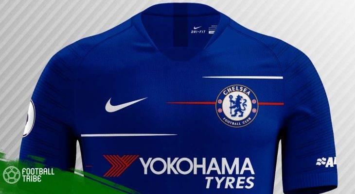 Rò rỉ mẫu áo đấu của Chelsea mùa giải 2018/19