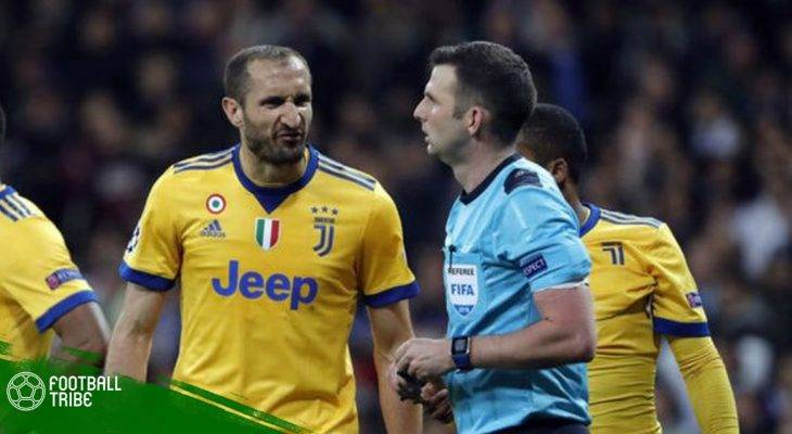 Bản tin trưa 12/4: Chiellini tố cáo Real Madrid mua trọng tài