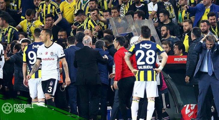 Bạo loạn tại Thổ Nhĩ Kì, CĐV ném vỡ đầu HLV Besiktas