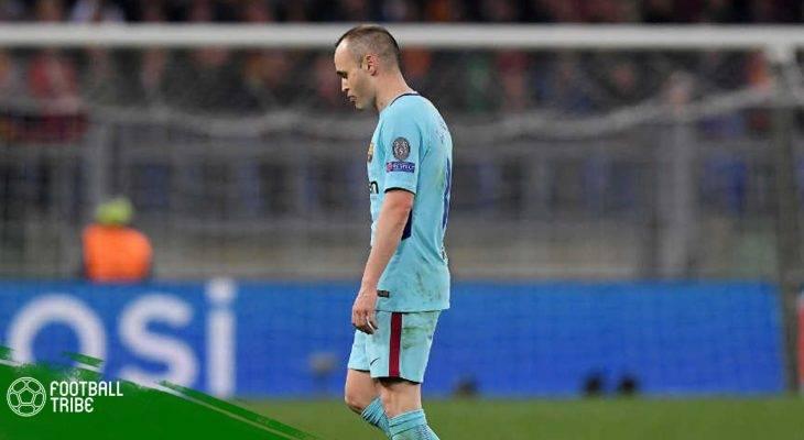 Iniesta úp mở khả năng chia tay Barca vào cuối mùa