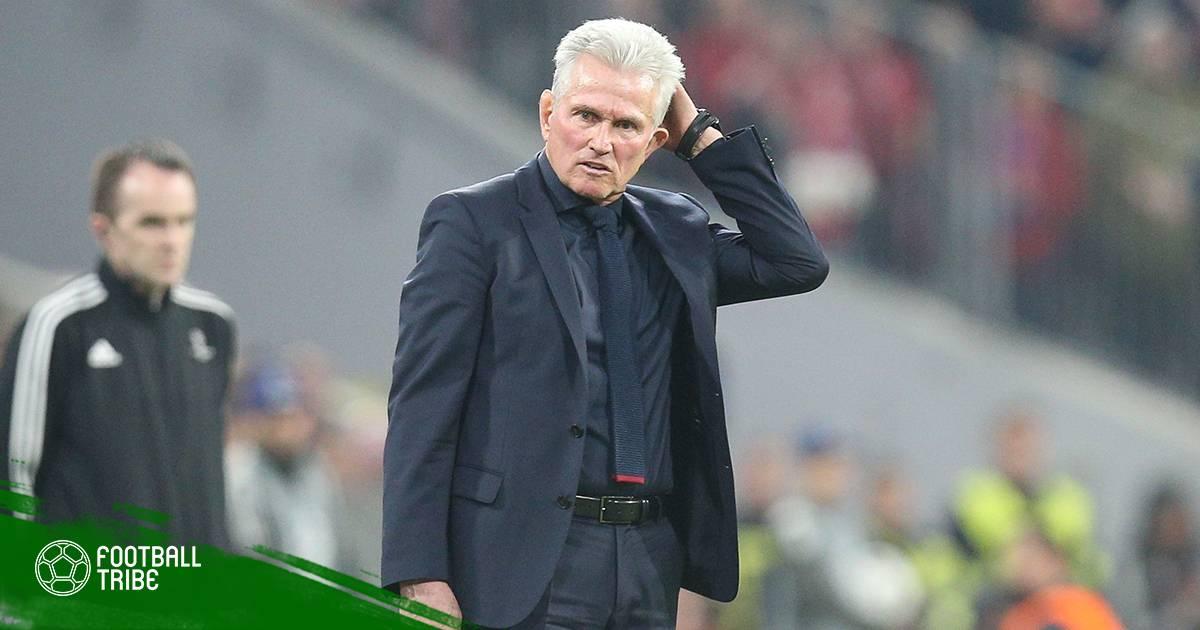 Bayern Munich thua nhưng Jupp Heynckes thì không