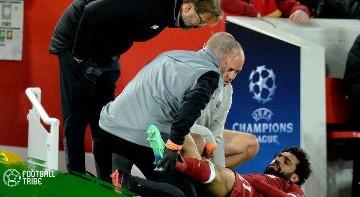 Klopp lên tiếng về chấn thương của Mohamed Salah