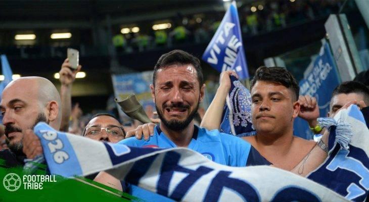 Giọt nước mắt hạnh phúc của những Neapolitan