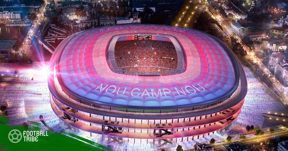 """Barca chuẩn bị biến Camp Nou thành """"kì quan"""" thế giới"""