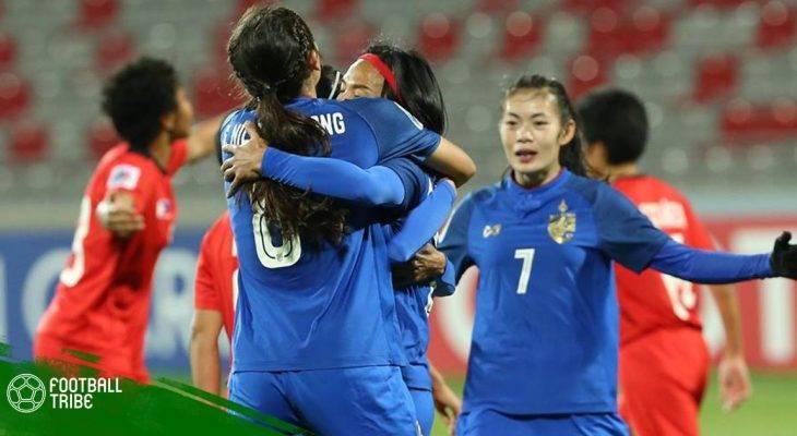 ĐT nữ Thái Lan giành quyền dự World Cup 2019