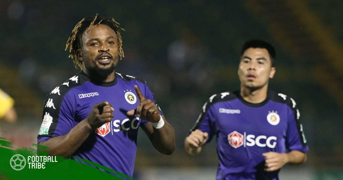 Tổng hợp vòng 5 V.League 2018: Hà Nội FC khẳng định sức mạnh