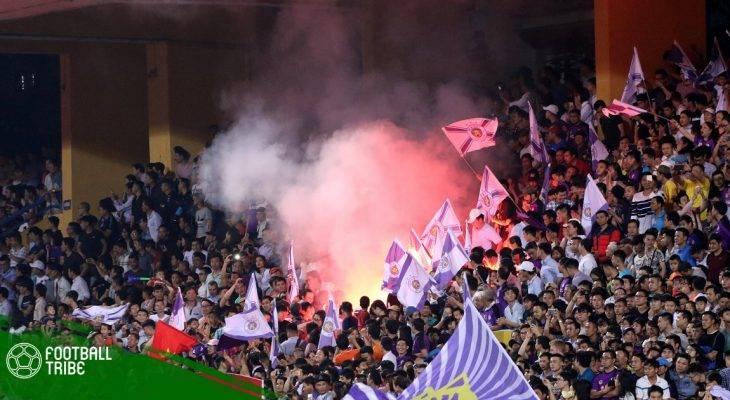 BTC sân Hàng Đẫy bị phạt nặng sau trận Hà Nội – HAGL