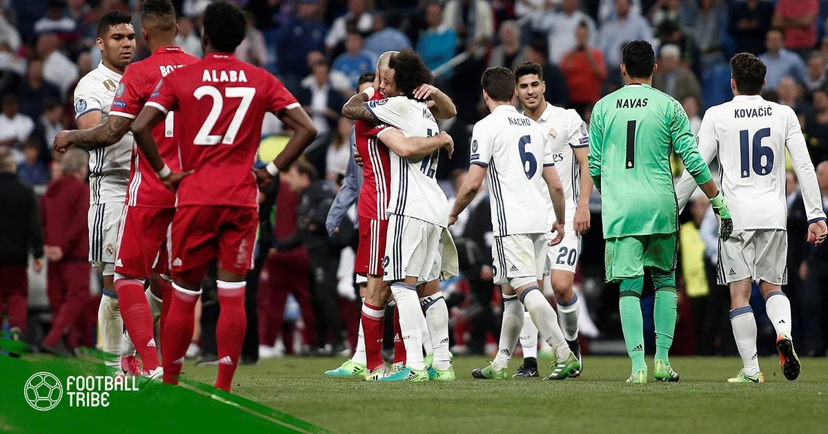 Siêu đội hình kết hợp giữa Bayern Munich và Real Madrid
